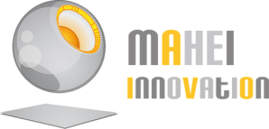 Logotipo Mahei Innovation
